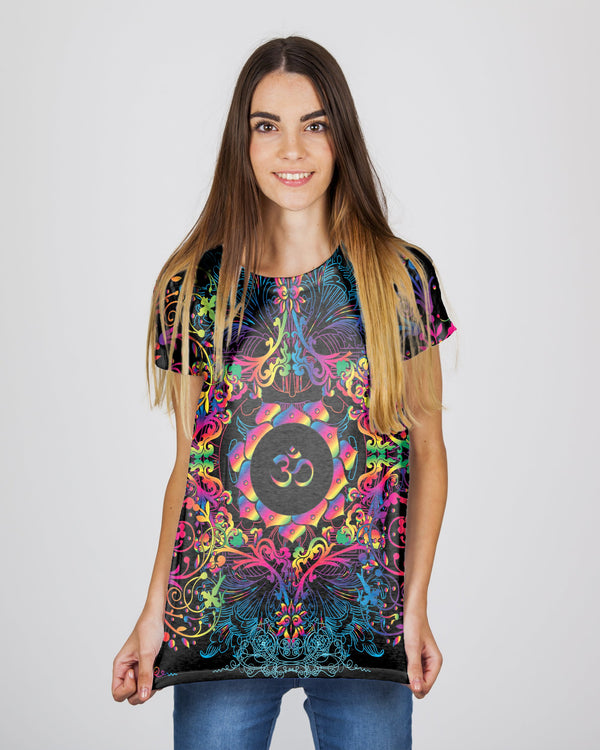 Mandala Natural Om Women's T-Shirt