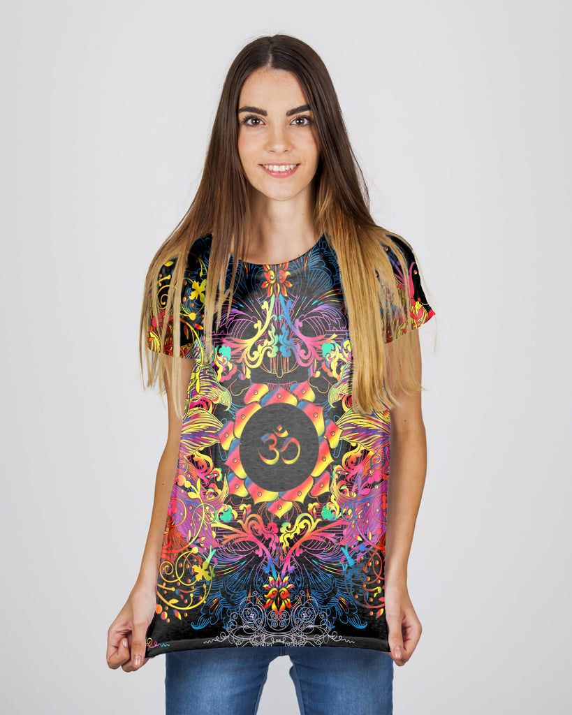 Mandala Om Halo Women's T-Shirt