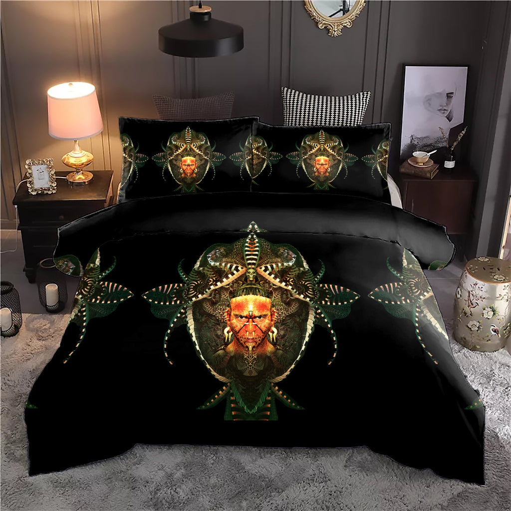 Maya Face Bedding Set