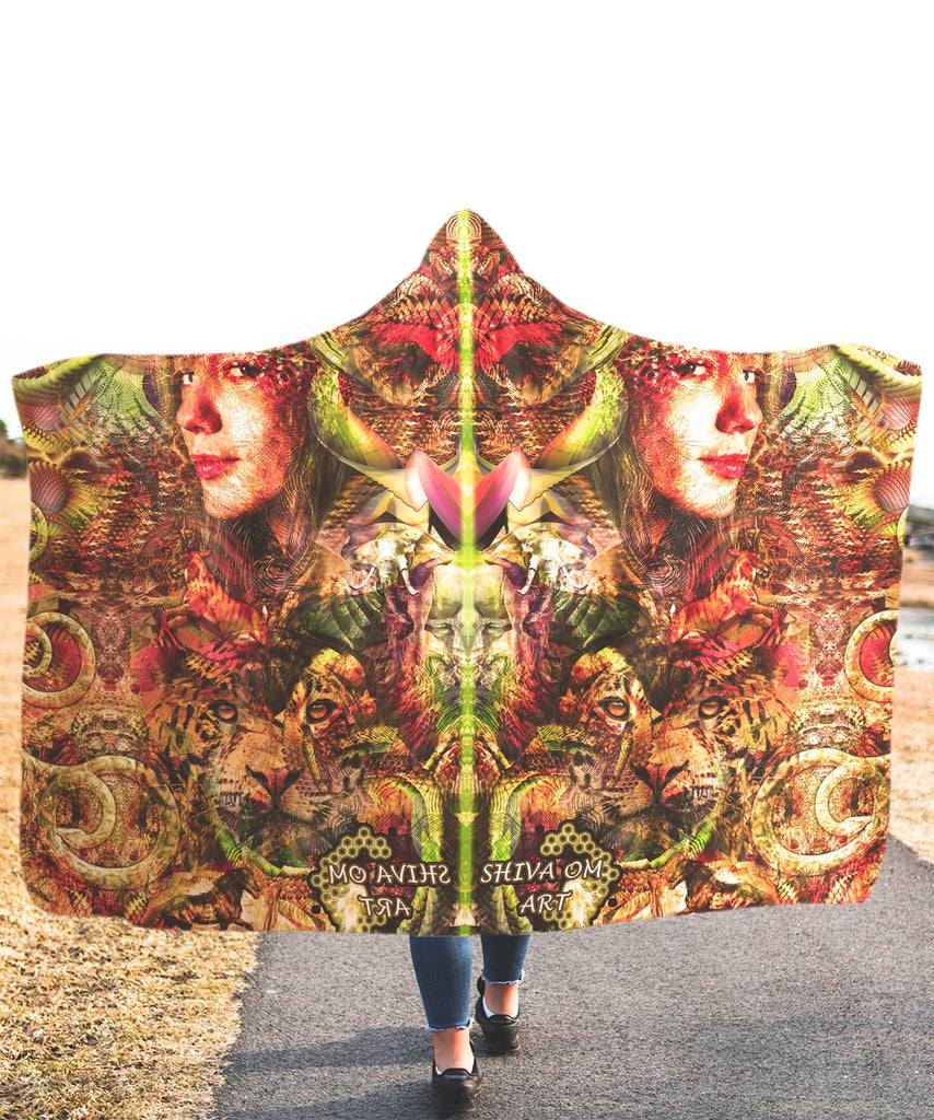 Mother Nature Hooded Blanket