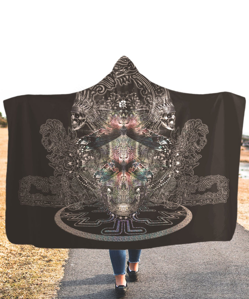 Nebula Corel Hooded Blanket