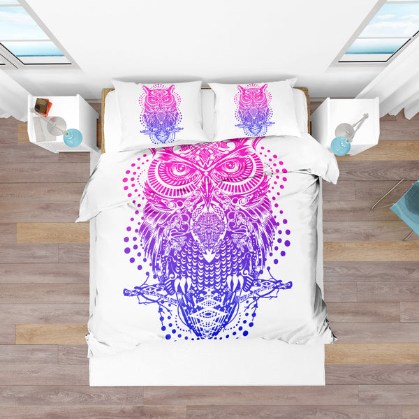 Owl Spirit Wisdom Bedding Set