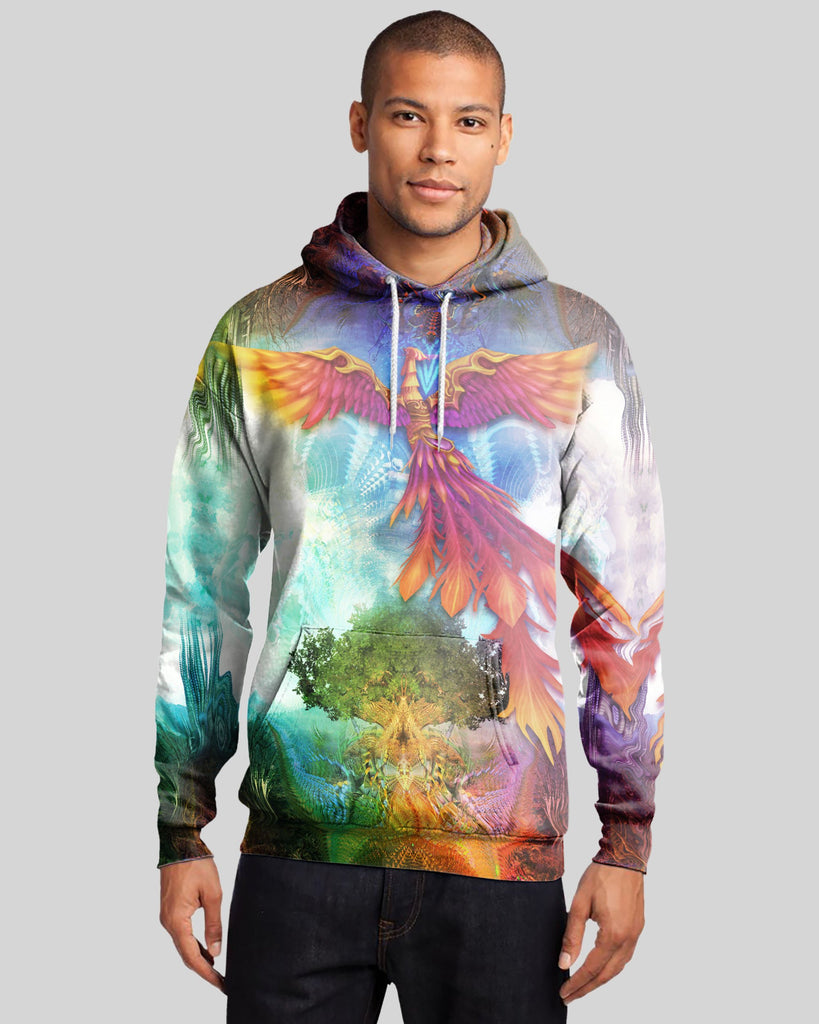 Phoenix Flight Men's Hoodie
