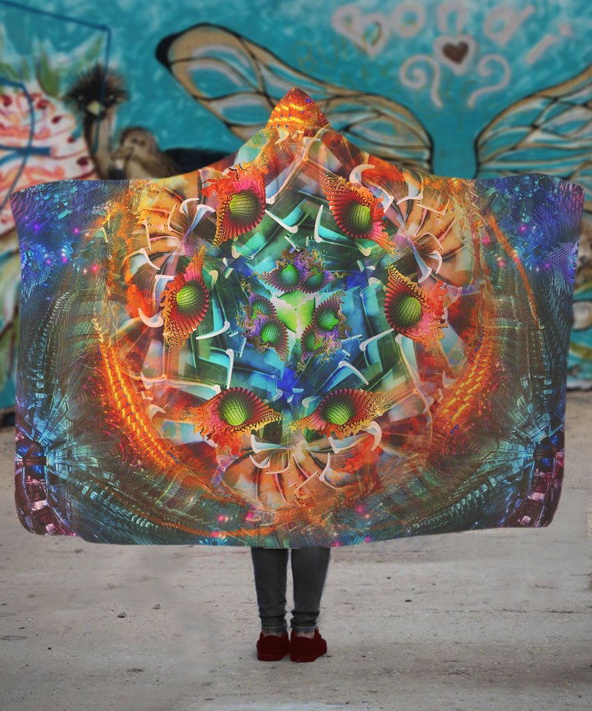 Psy Element3 Hooded Blanket