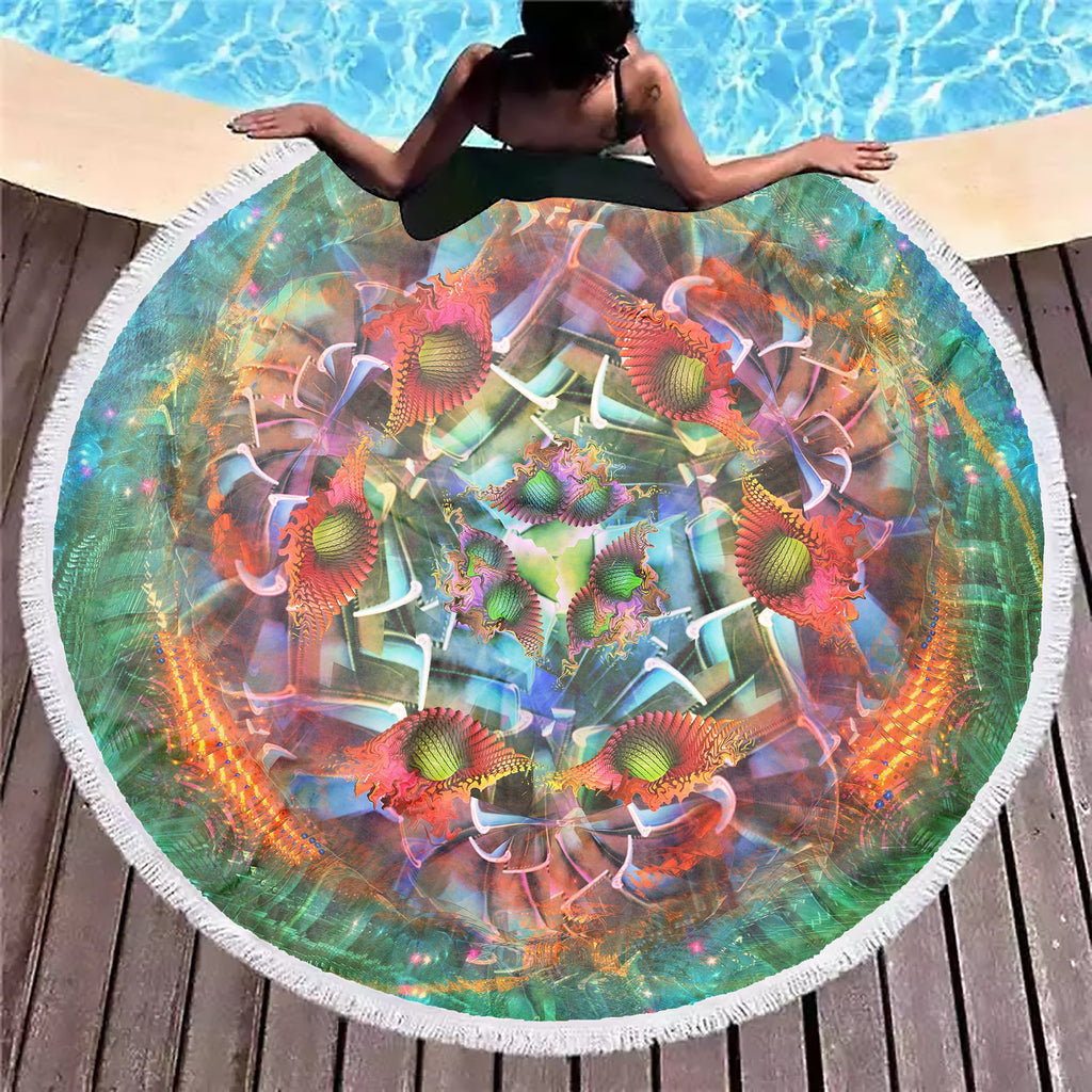Psy Element4 Beach Blanket