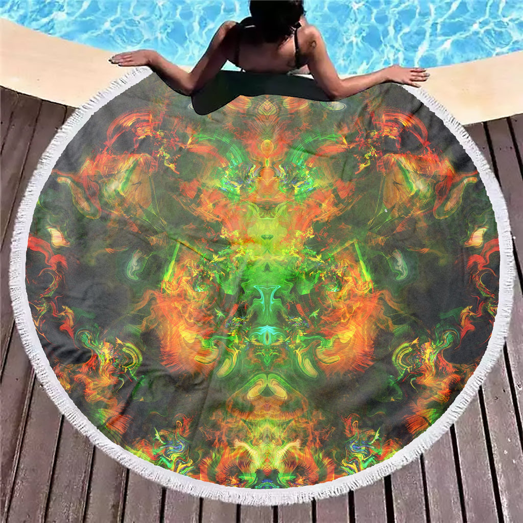 Psy Mind Beach Blanket