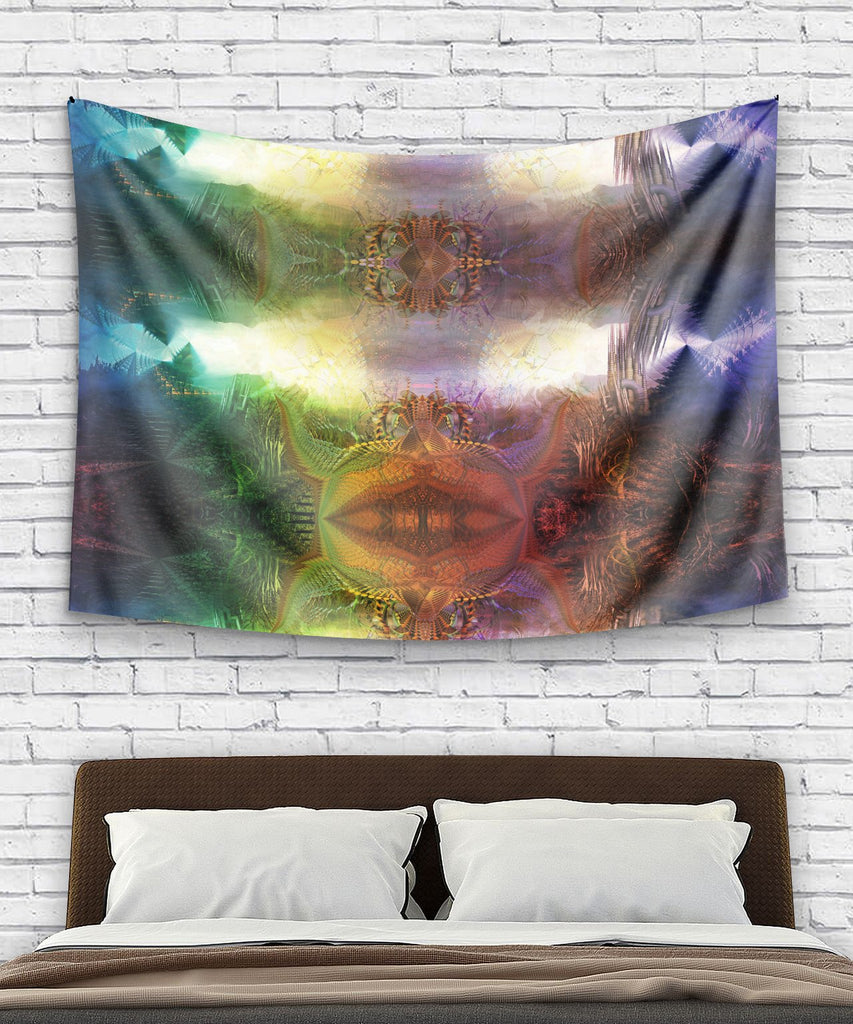 Psychedelic Milky Way Tapestry