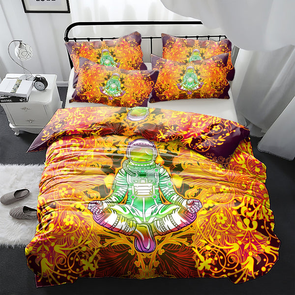 Shiva Astronaut Bedding Set