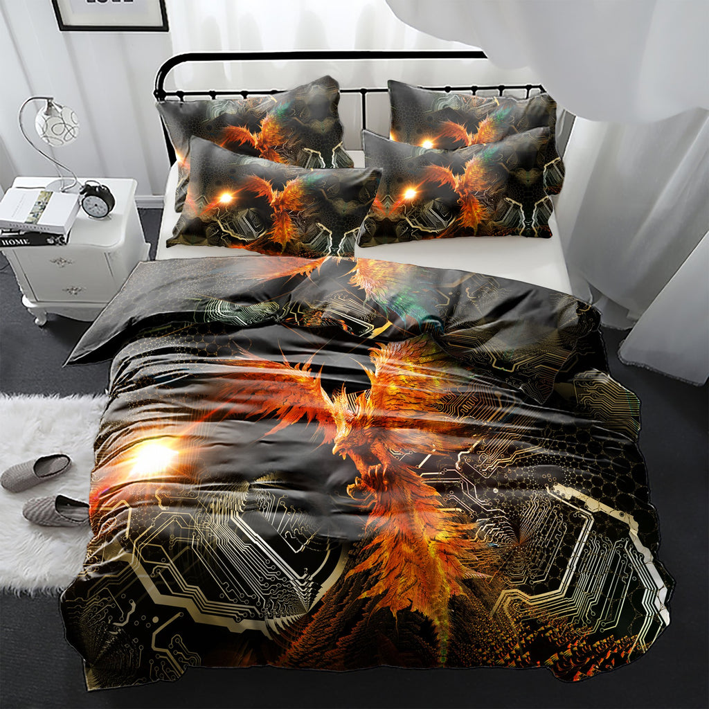 The Phoenix Bedding Set