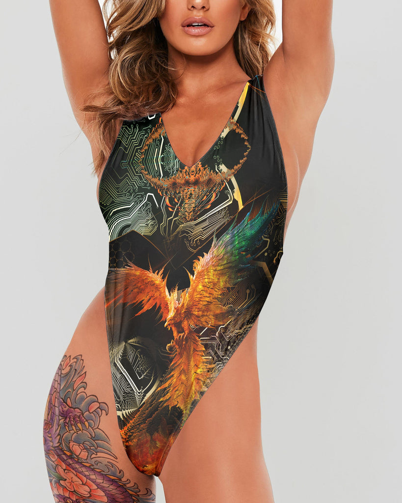 The Phoenix Full Body Swimsuit