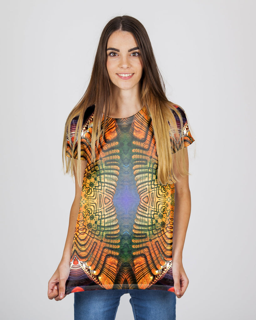 Twin Spirals Women's T-Shirt