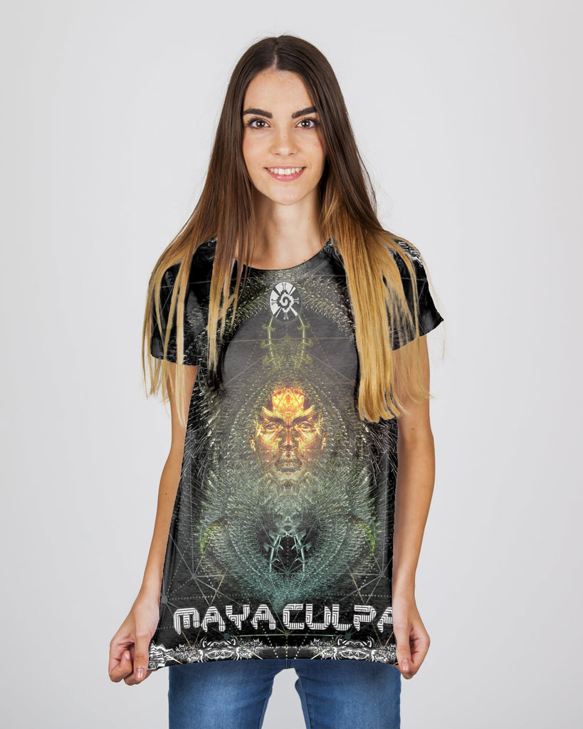 Maya Culpa Yellow Women's T-Shirt