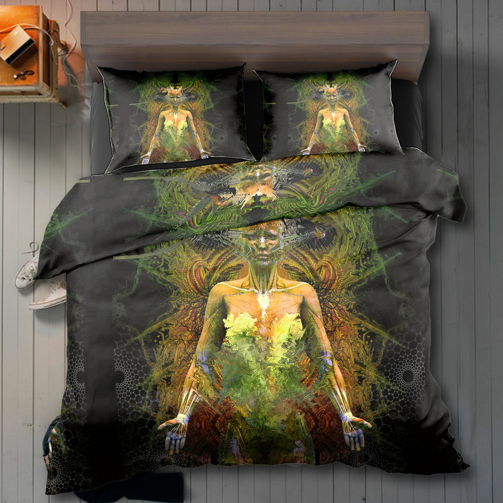 Walking Dead Yellow Bedding Set