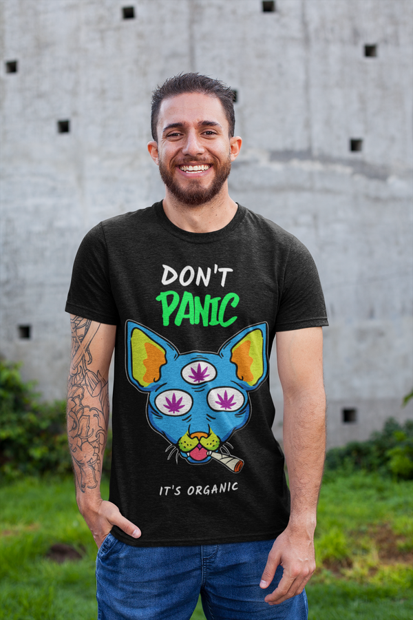 Don't Panic I'ts Organic Men's T-Shirt