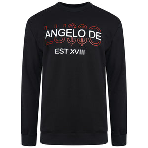 Long Sleeve 'LU$$O' Sweatshirt - ANGELO DE LUSSO