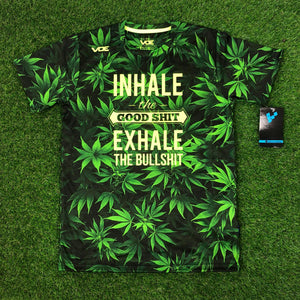 Inhale the Good Shit & Exale the Bullshit Jersey (Stock)