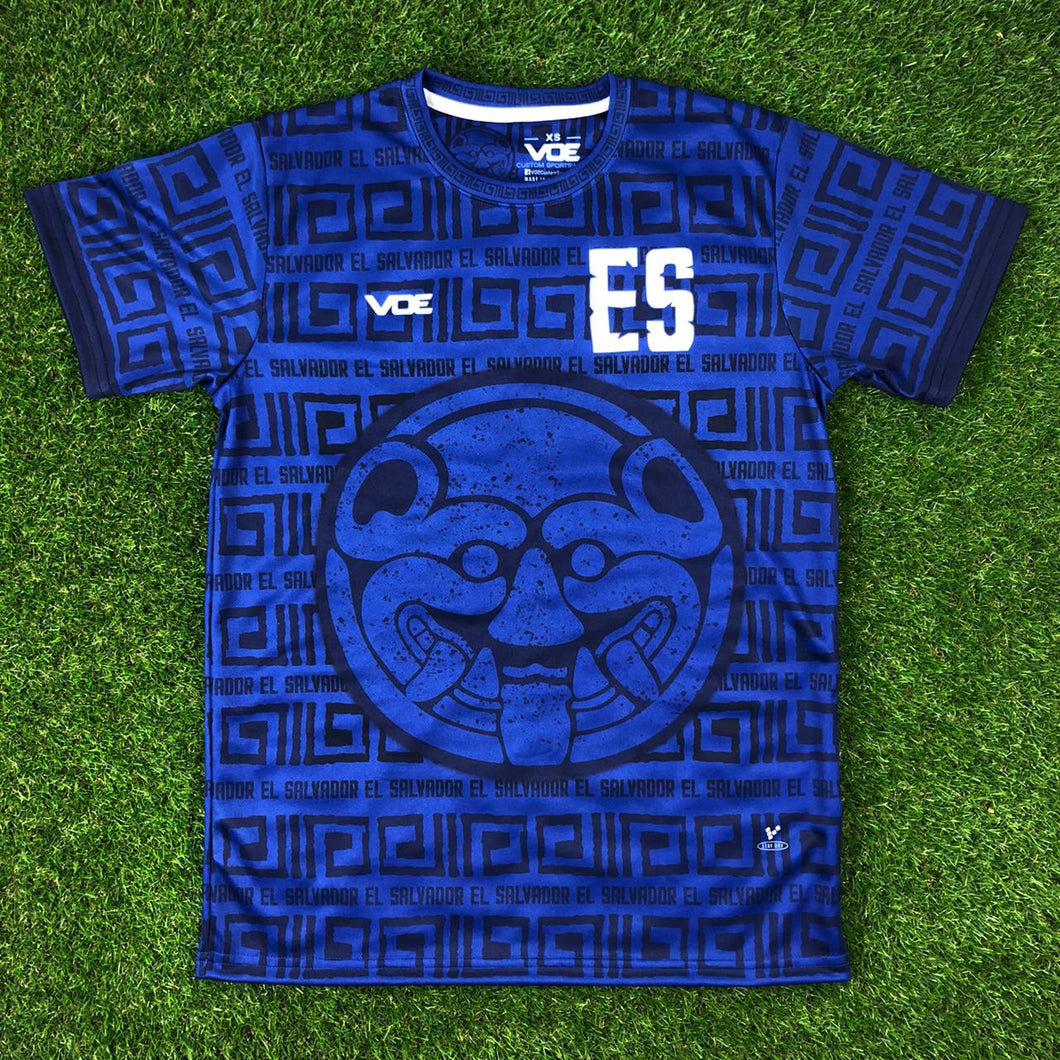 El Salvador Short Sleeve Jersey -
