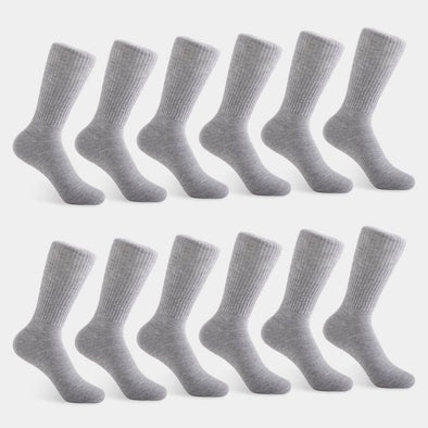 Men's Crew Grey Sock
