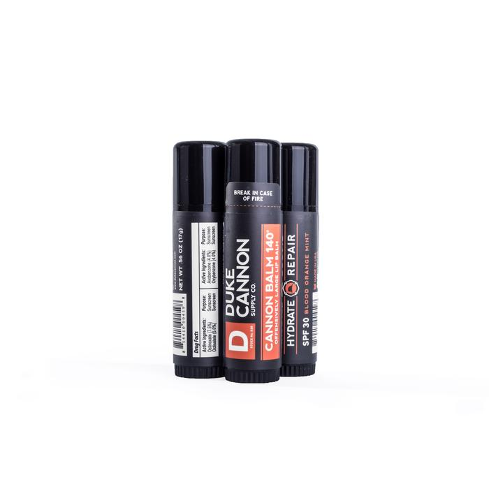 Duke Cannon's Cannon Balm 140° Tactical Lip Protectant