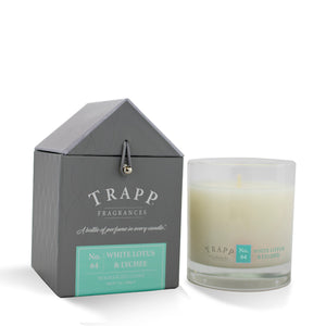 No. 64 White Lotus & Lychee - 7oz. Signature Poured Candle