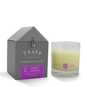 No. 60 Jasmine Gardenia - 7oz. Signature Poured Candle