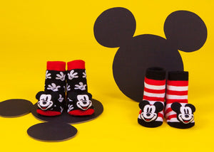 Mickey Mouse Rattle Socks