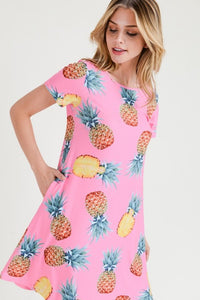 Sweet Like Pineapple Dress