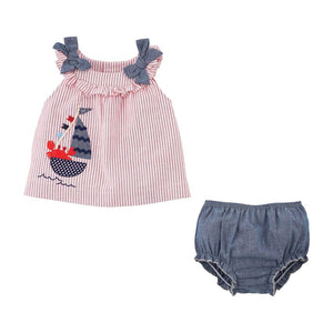 Crab Pinafore and Bloomer