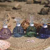 Decorative Coastal Glass Bottles