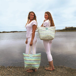 Sea Turtle Tote Bags