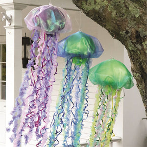 Hanging Fabric Jellyfish
