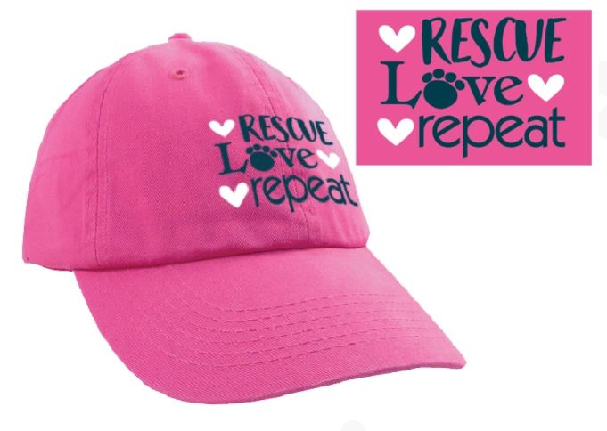 Ball Cap - Rescue Love Repeat