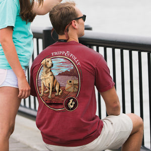 Dog on a Dock Topside Cotton Tee