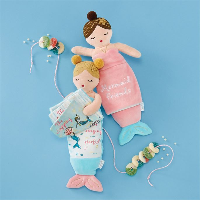 Plush Mermaid Reading Pal - Available in 2 Styles