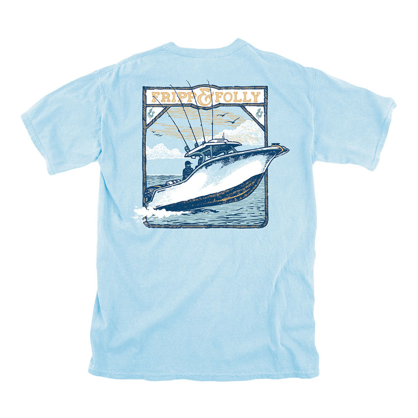 Out on the Water Topside Cotton Tee