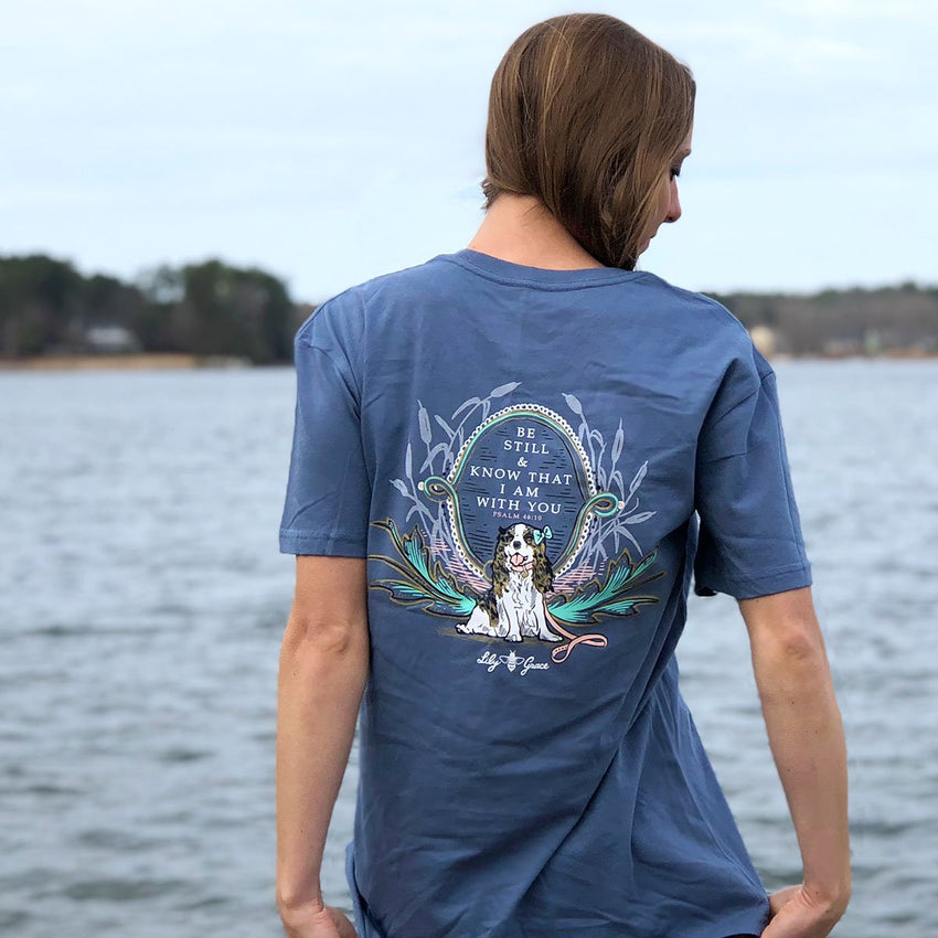 Be Still & Know That I am With You Topside Cotton Tee