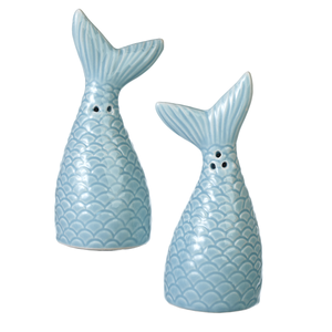 Mermaid Tail Salt & Pepper Shaker