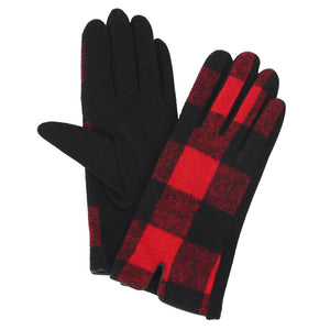 Buffalo Plaid Gloves - Available in 2 Colors!