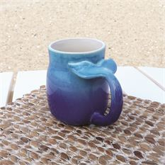 Natural Finish Fish Tail Mug