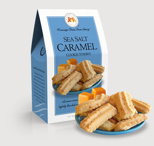 Sea Salt Caramel Cookie Straws 5.5 oz. Cartons