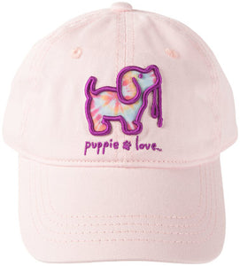 Puppie Love Light Pink Hat