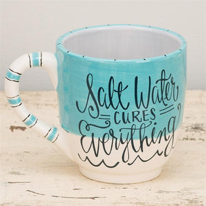 Salt Water Cures Everything Jumbo Mug