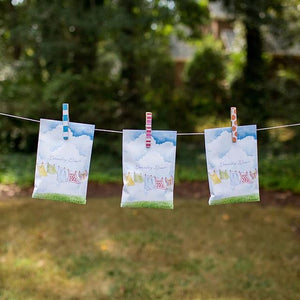 Scented Sachet - Laundry Line
