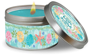 Salty Kisses & Starfish Wishes Travel Candle
