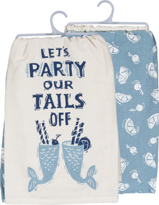 Dish Towel Set - Let's Party Our Tails Off