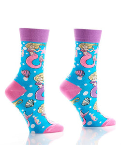 Women's Mermaid Crew Socks