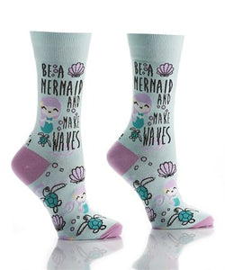 Women's Make Waves Crew Socks