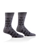 "Men's ""No Adulting"" Crew Socks"
