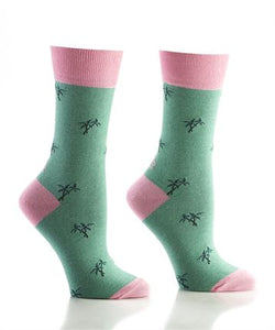 Women's Island Time Crew Socks