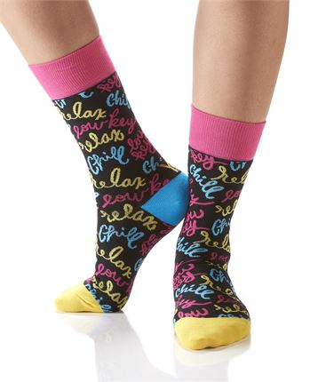 Women's Chill Out Crew Socks